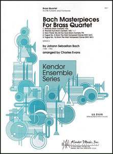 Bach Masterpieces for Brass Quartet