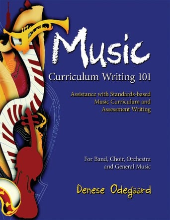 Music Curriculum Writing 101