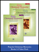 Alfred's Popular Christmas Memories Value Pack