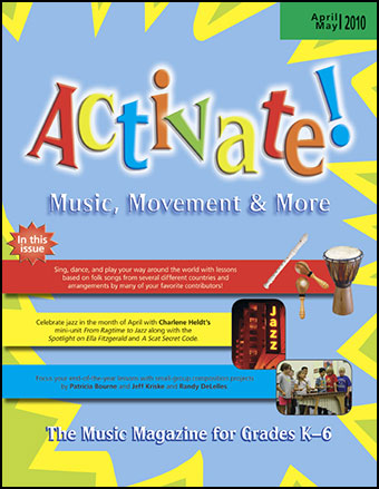 Activate Magazine April 2010-May 2010 Cover
