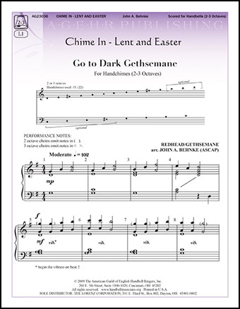 Chime in Lent and Easter
