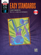 Easy Jazz Play-Along Series - Volume  2 (Easy Standards)