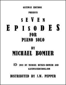 7 Episodes for Piano Solo