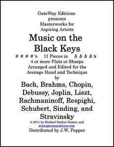 Music on the Black Keys