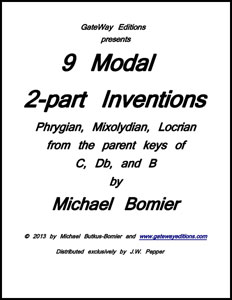 9 Modal Two-Part Inventions