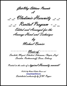 A Horowitz Recital Program
