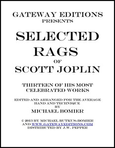 Selected Rags of Scott Joplin
