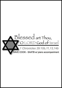Blessed Art Thou, O Lord, God Of Israel