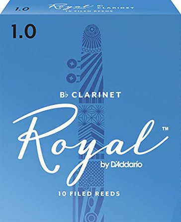 Royal by D'Addario B-flat Clarinet Reeds