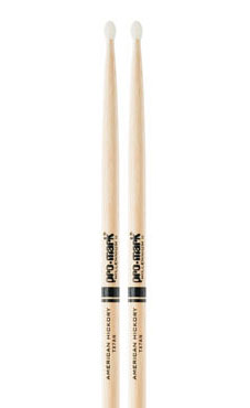 Promark American Hickory Nylon Tip Drum Sticks