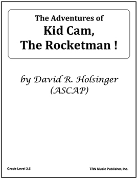 The Adventures of Kid Cam, the Rocketman!