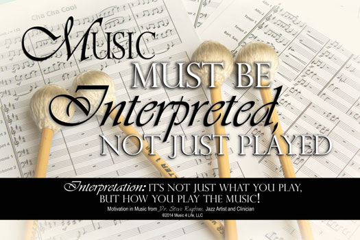 Music Interpreted Poster