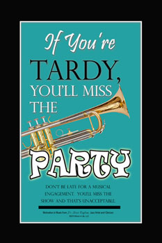 Tardy Poster
