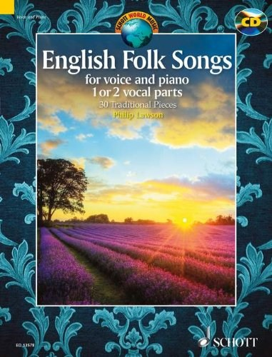 English Folk Songs (Vocal Solo Collection & | J W  Pepper