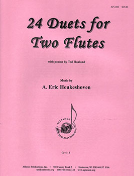 24 Duets for Two Flutes
