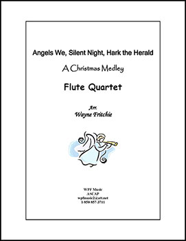 Angels We, Silent Night, Hark the Herald: a Christmas Medley