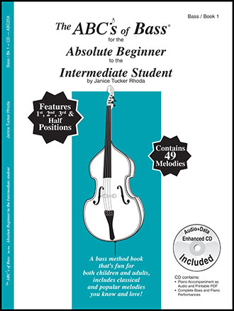 ABC'S OF BASS #1 ABSOLUTE BEGINNER BK/CD
