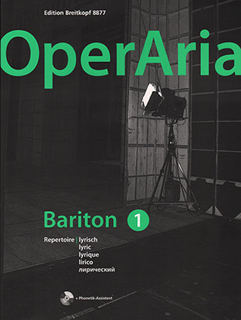 OperAria Baritone, Vol. 1: Lyric