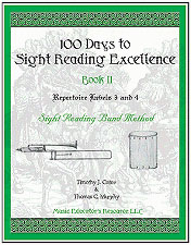 100 Days to Sight Reading Excellence, Book 2