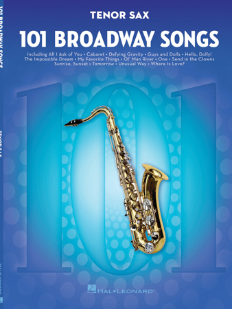 101 Broadway Songs Cover