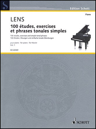 100 Etudes : Exercises and Simple Tonal Phrases #1