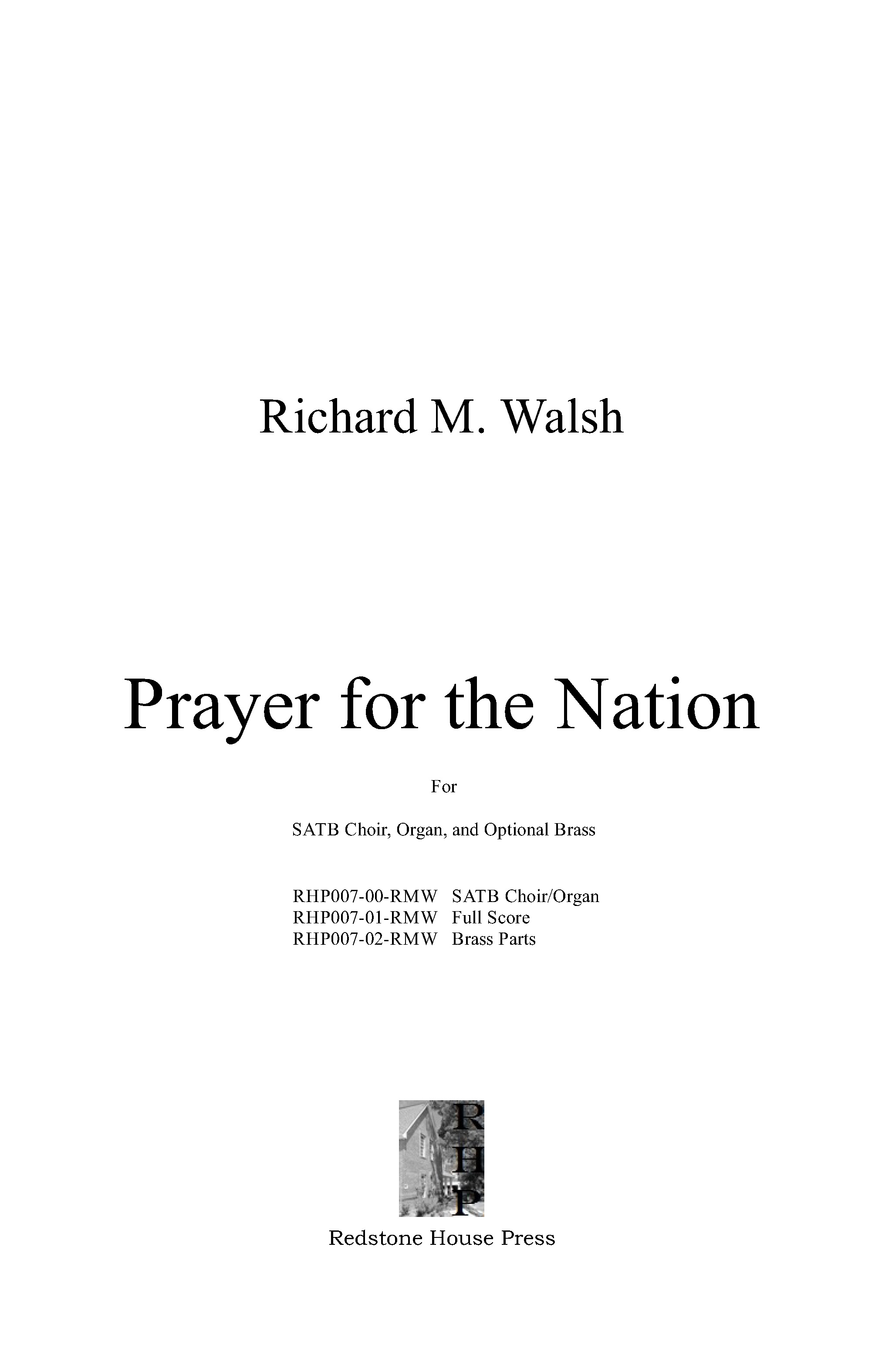 Prayer for the Nation