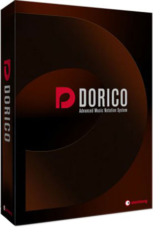 Dorico Advanced Music Notation System Cover