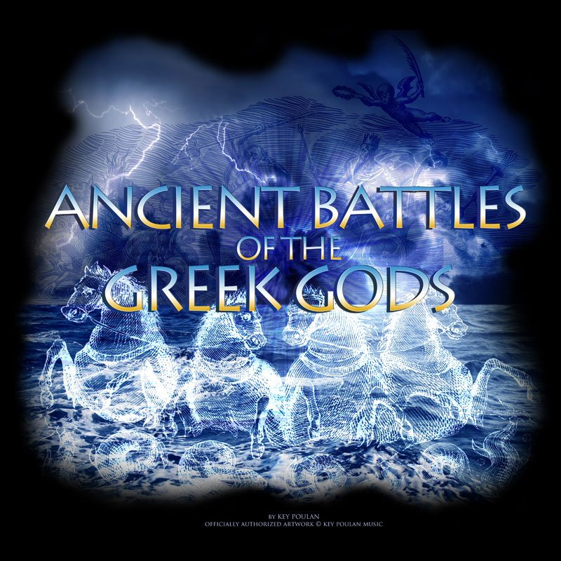Ancient Battle of the Greek Gods