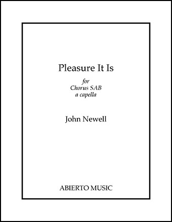 Pleasure It Is