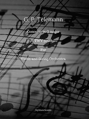Concerto in G major TWV51:G8 for Violin and String Orchestra