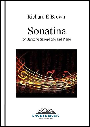 Sonatina for Baritone Saxophone and Piano