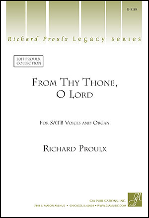 From Thy Throne, O Lord