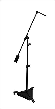 Hex Base Studio Boom Mic Stand
