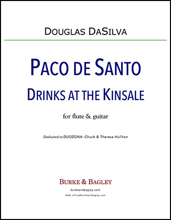Paco de Santo Drinks at the Kinsale