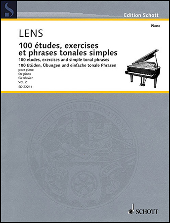 100 Etudes, Exercises and Simple Tonal Phrases, Vol. 2