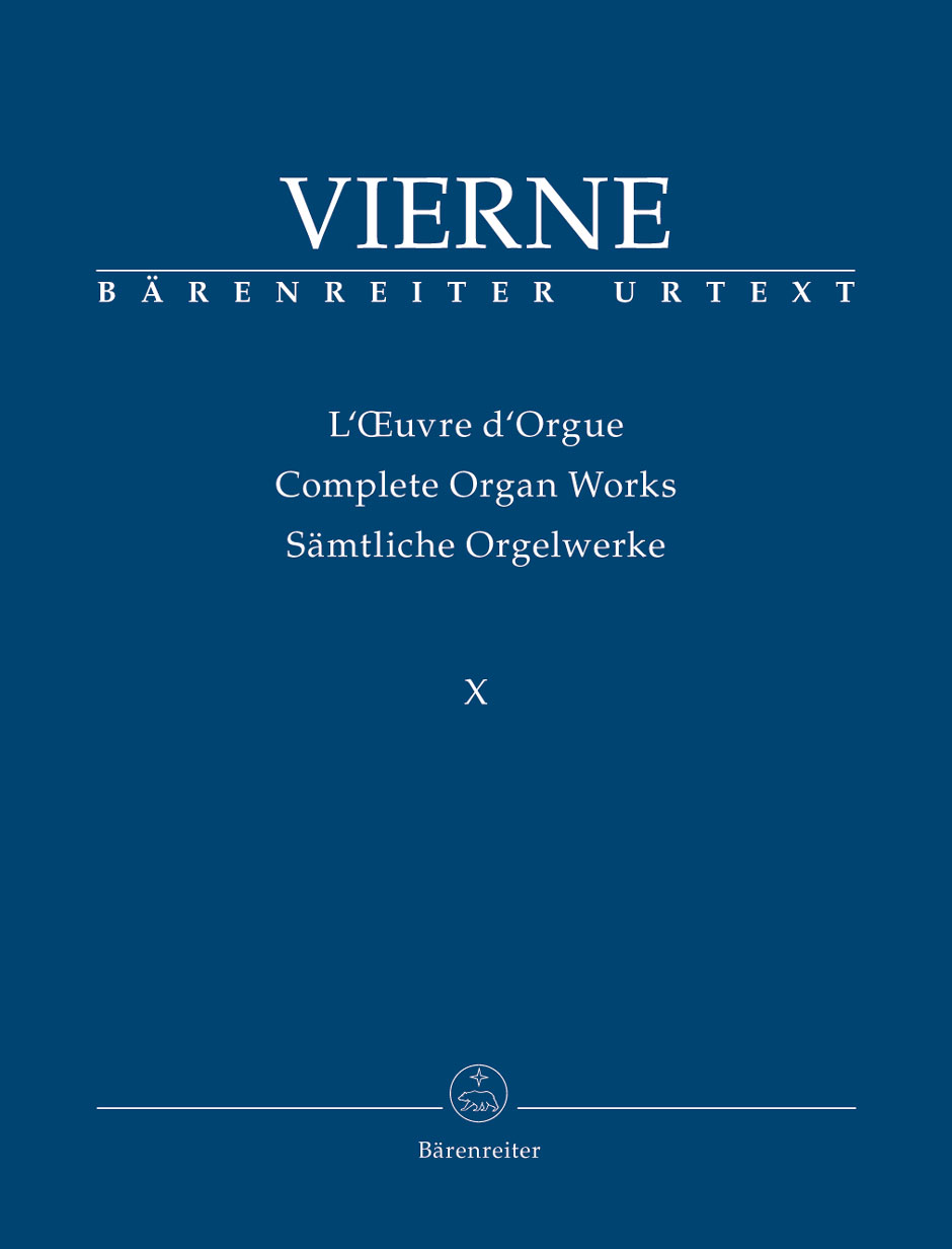 Complete Organ Works, Vol. 10