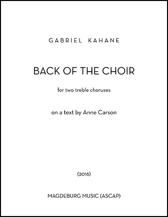 Back of the Choir