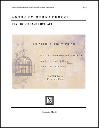 3. Liberty - To Althea, from Prison