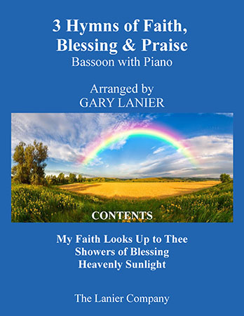 3 Hymns of Faith, Blessing & Praise (For Bassoon with Piano)
