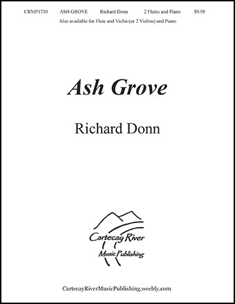 Ash Grove - Two Flutes, and Piano (or 2 Violins)