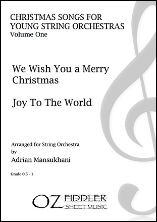 Christmas Songs for Young String Orchestras, Volume One