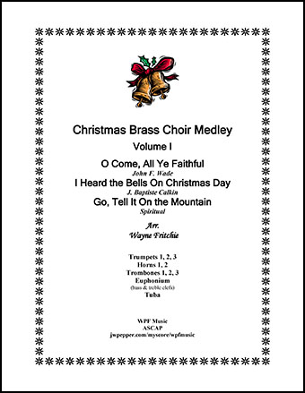 Christmas Brass Choir Medley Volume I