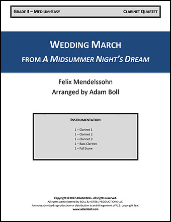 Wedding March from A Midsummer Night's Dream