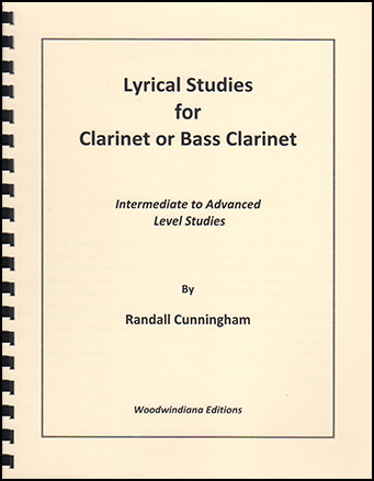 Lyrical Studies for Clarinet or Bass Clarinet