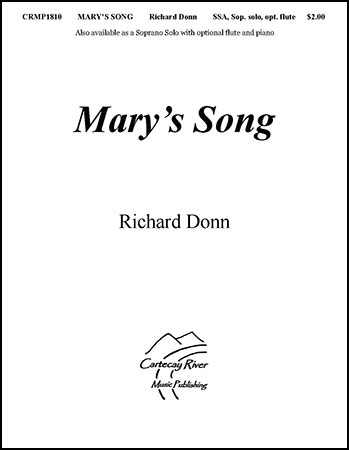 Mary's Song SSA with soprano solo and optional flute