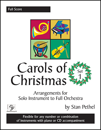 Carols of Christmas, Set 1 Cover