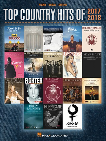 Top Country Hits of 2017-2018 by Various Artists| J W
