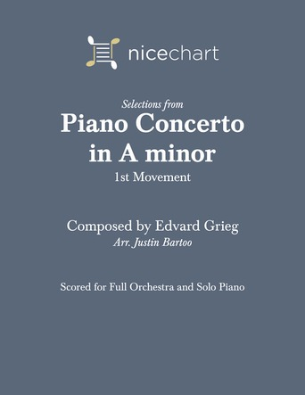 Piano Concerto in A minor, Movement 1