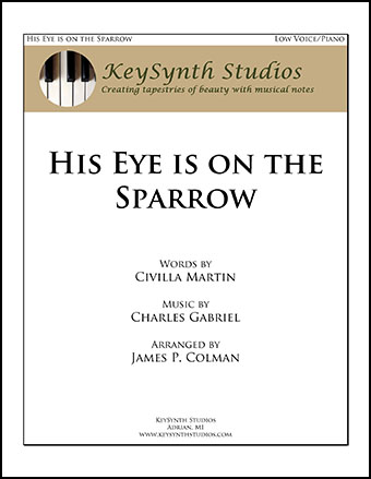 His Eye is On the Sparrow Thumbnail