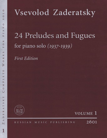 24 Preludes and Fugues, Vol. 1